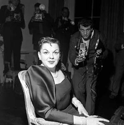 Singer Judy Garland, shortly before her death