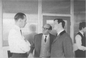 George Martin, Dick James, Brian Epstein